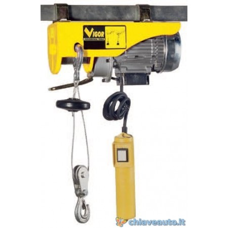 Paranco elettrico vigor for Braccio per paranco elettrico