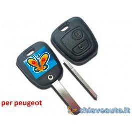 guscio chiave auto peugeot 2t